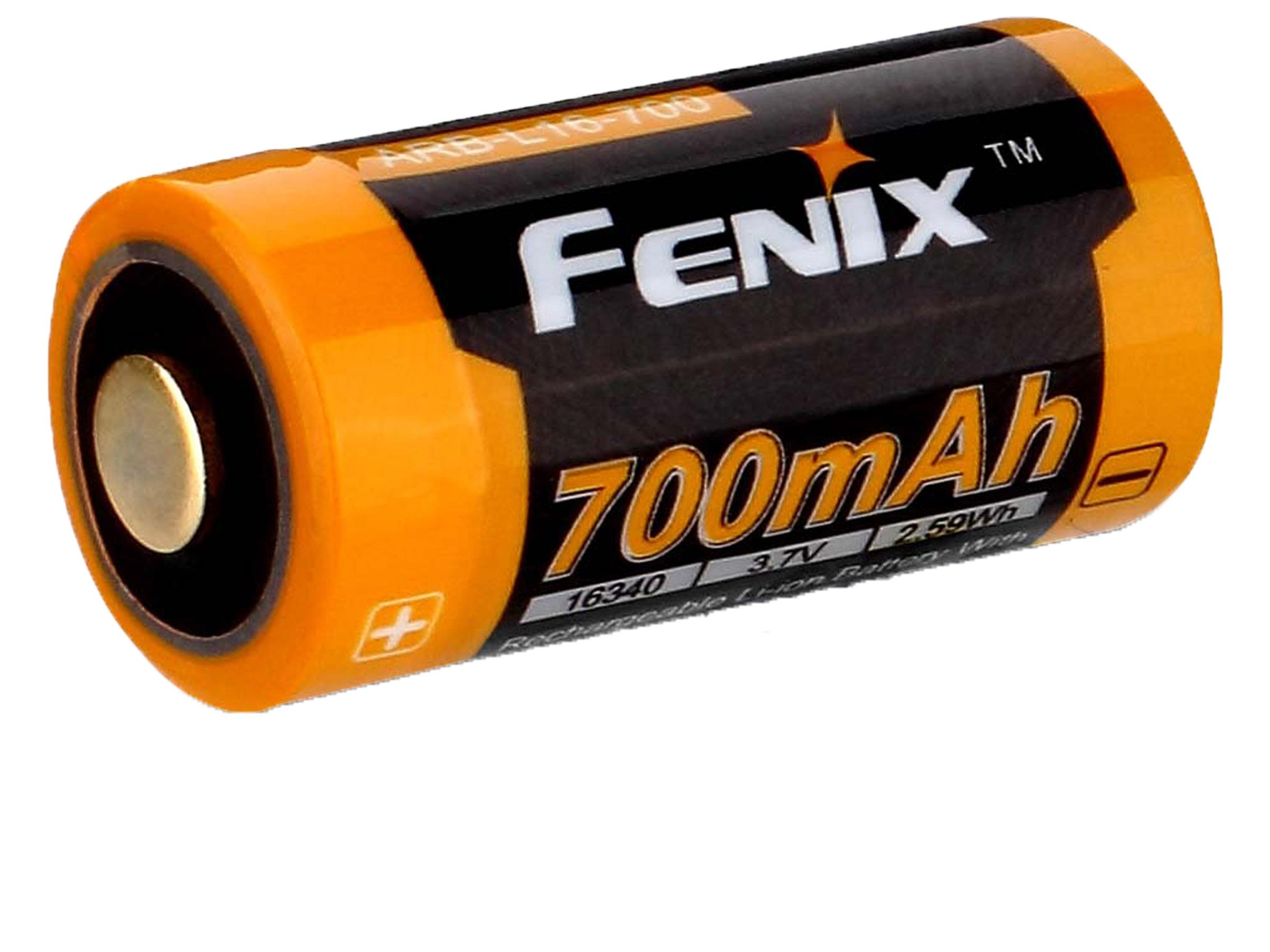 Fenix 16340 - 700mAh - Acumulator - ARB-L 16-700