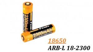 Fenix 18650 - 2300mAh - Acumulator - ARB-L 18-2300