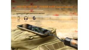 Fenix ARE-X11 - Kit de încărcare 18650 - acumulator de 3500mAh inclus