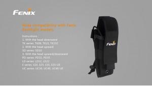 Fenix - ALP-MT - Teacă Profesională Multifuncțională - Khaki