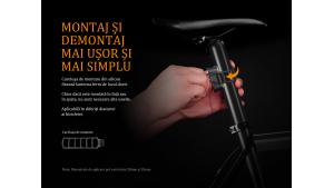 Fenix BC05R - Lanternă bicicletă de spate - 10 Lumeni - 6 Metri