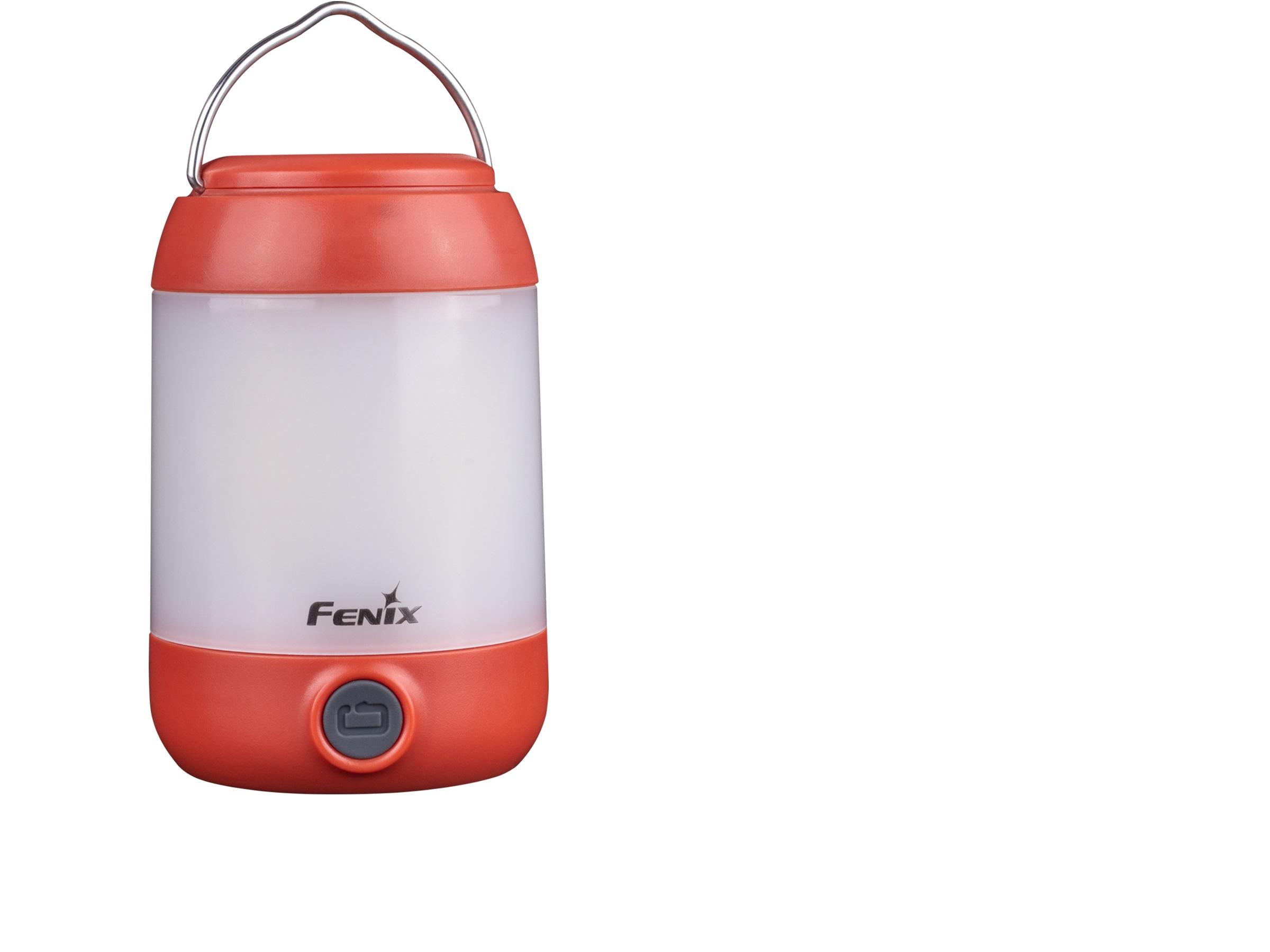FENIX CL23 - Lanternă camping - 300 Lumeni - 20 metri - Roșu