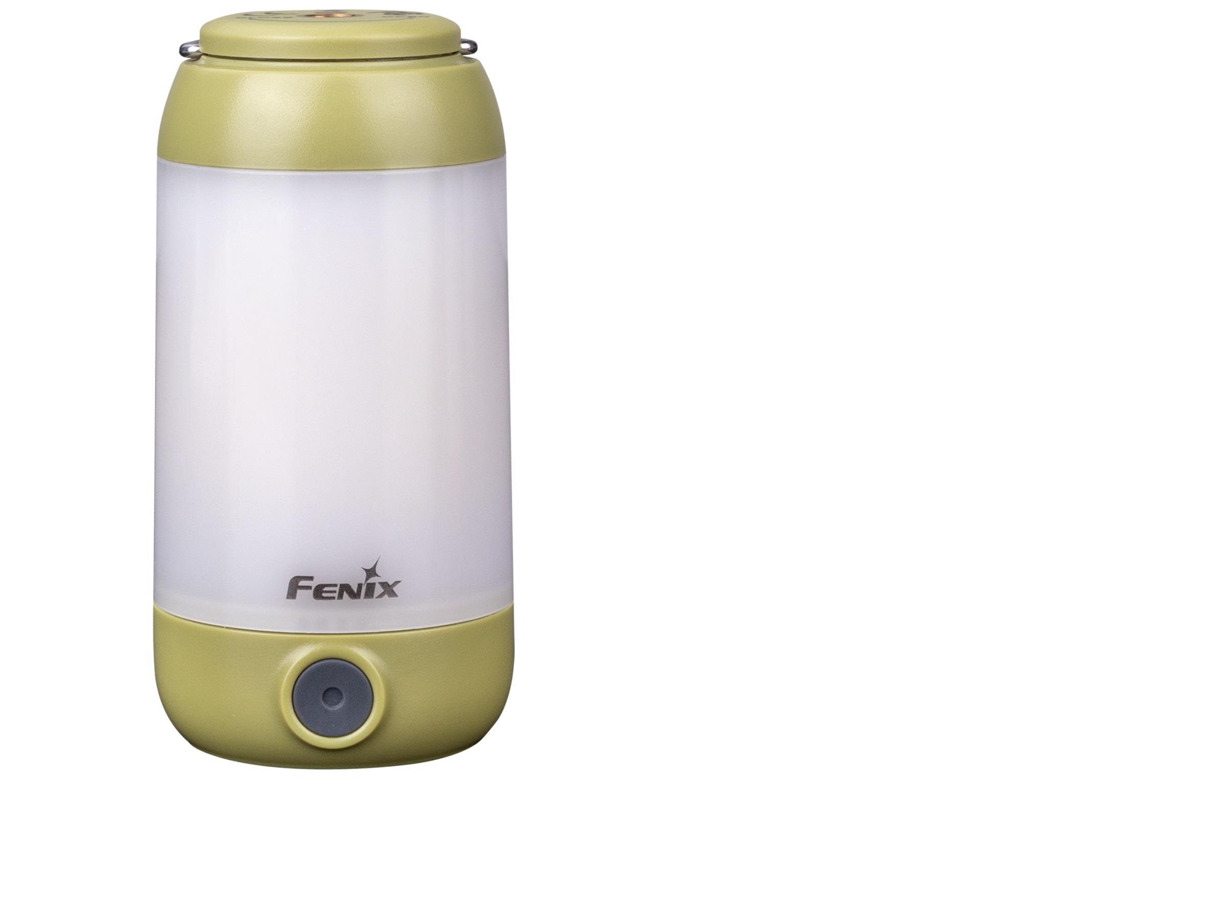 FENIX CL26R - Lanternă camping - 400 Lumeni - 25 metri - Verde
