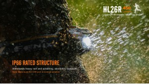 Fenix HL26R - Negru
