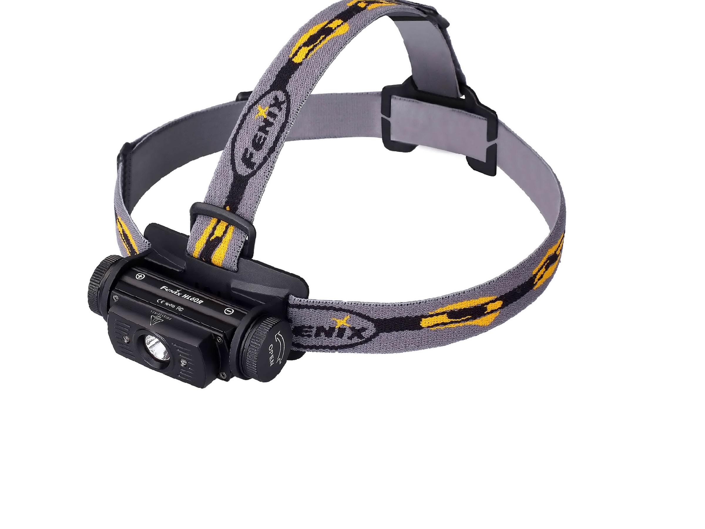 Fenix HL60R - Lanternă Frontală Reîncărcabilă - 950 Lumeni - 116 Metri - Negru