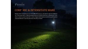 Fenix E01 V2.0 - Lanternă EDC - 100 Lumeni - 35 Metri - Negru