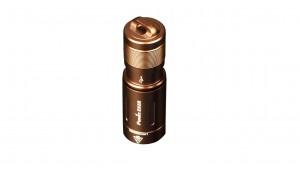 Fenix E02R - EDC - 200 lumeni - 49 metri - Brown