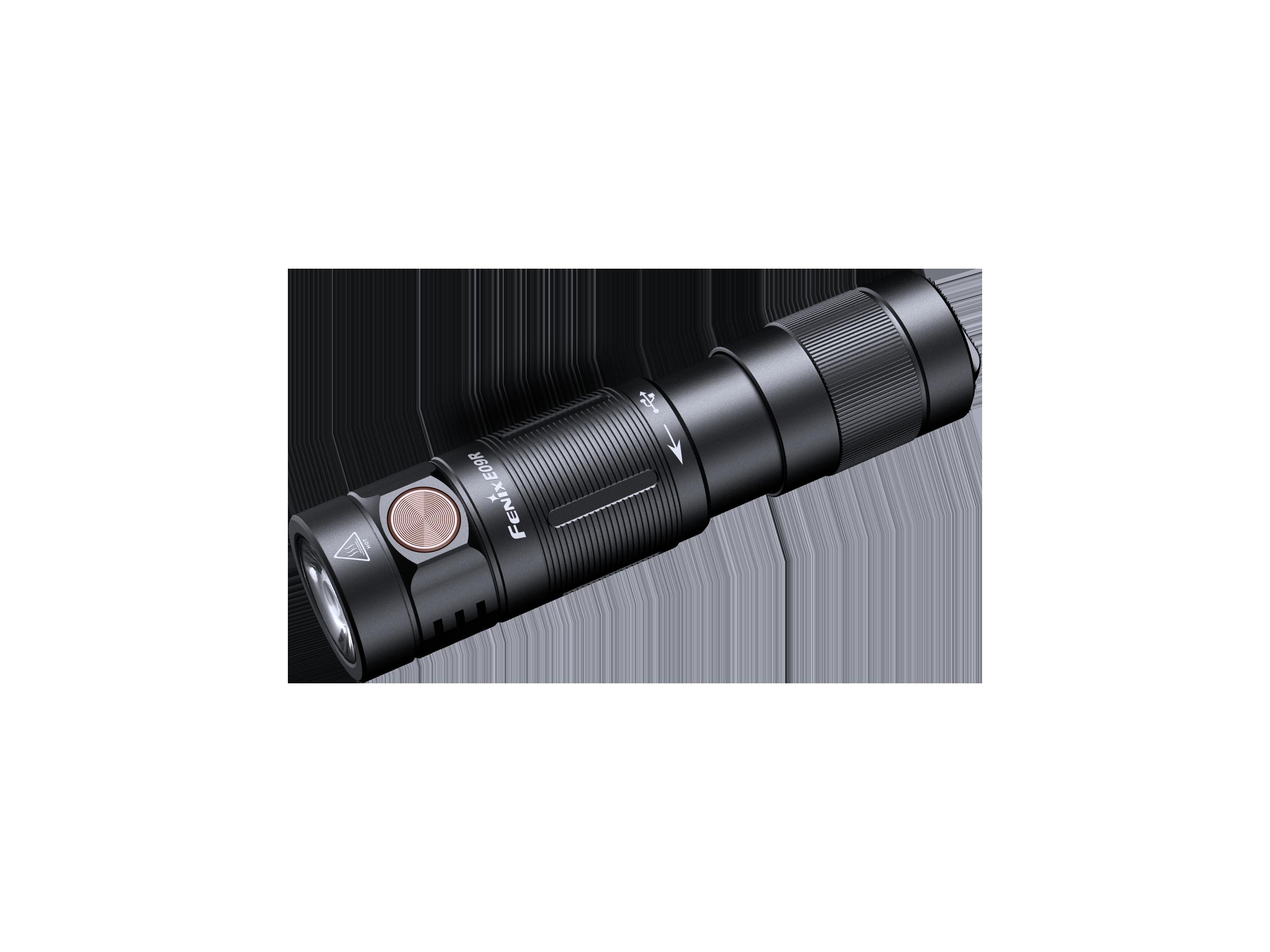 Fenix E09R - Lanternă EDC - 600 Lumeni - 124 Metri