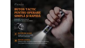 Fenix LD30 - Lanternă EDC - 1600 Lumeni - 205 Metri - Ediție 2019