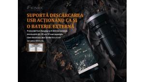Fenix LR40R - Lanternă profesională - 12000 Lumeni - 773 Metri
