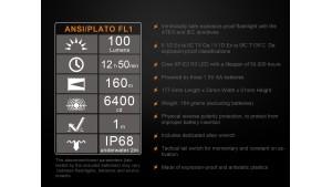 Fenix SE10 - Lanternă ATEX