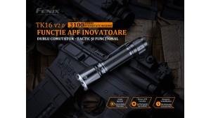 Fenix TK16 V2.0 - Lanternă tactică - 3100 Lumeni - 380 Metri