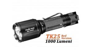 Fenix TK25 - Versiune Red - Lanternă Tactică - 1000 Lumeni - 225 Metri
