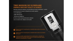 Fenix TK72R - Lanternă Tactică - 9000 Lumeni - 286 Metri