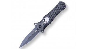 JKR - Briceag de buzunar - Gravat Punisher - 8.5 CM
