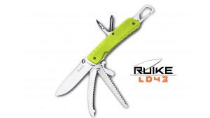 Ruike - LD43 - Cuțit multifuncțional - 15 funcții - Verde